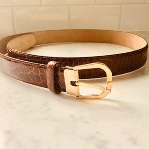 Bally Italian Leather Belt